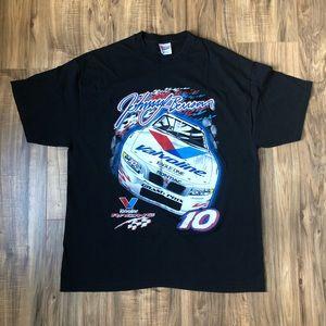 Nascar T Shirt Vintage Johnny Benson XL